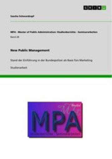 eBook New Public Management Cover