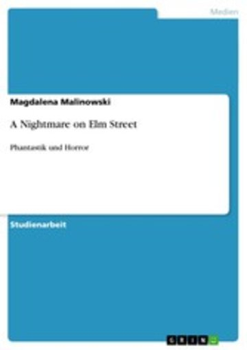 eBook A Nightmare on Elm Street Cover