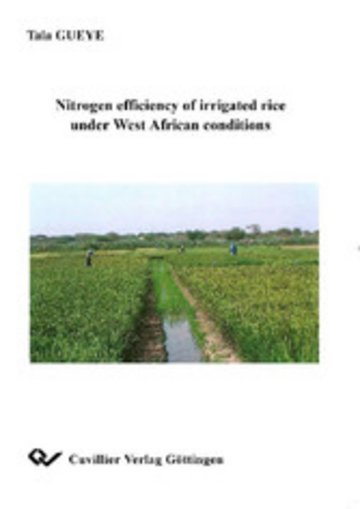eBook Nitrogen efficiency of irrigated rice under West African conditions Cover