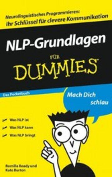 eBook NLP-Grundlagen für Dummies Das Pocketbuch Cover
