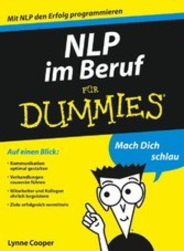 eBook NLP im Beruf für Dummies Cover