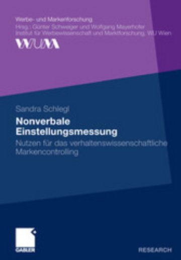 eBook Nonverbale Einstellungsmessung Cover