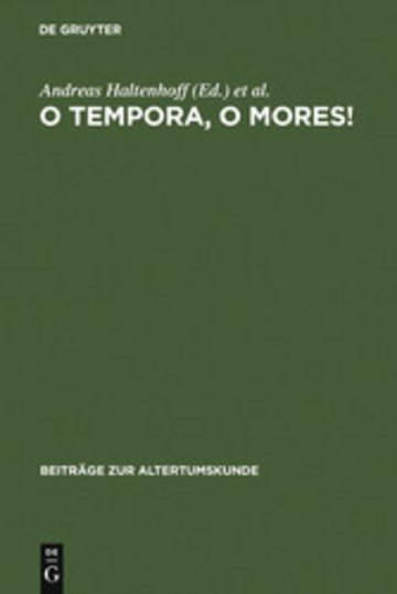 eBook O tempora, o mores! Cover