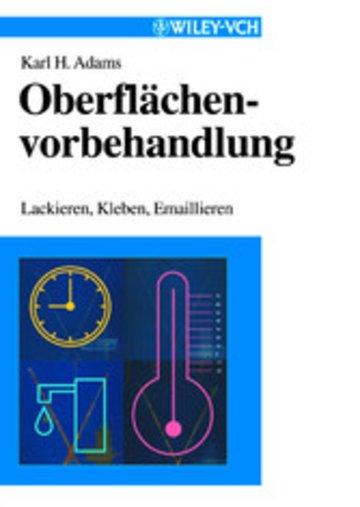 eBook Oberflächenvorbehandlung Cover