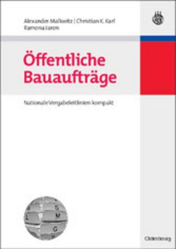 eBook Öffentliche Bauaufträge Cover