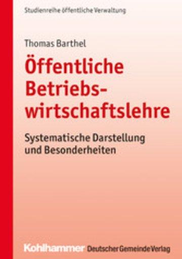eBook Öffentliche Betriebswirtschaftslehre Cover