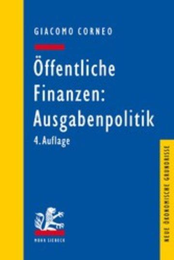 eBook Öffentliche Finanzen: Ausgabenpolitik Cover