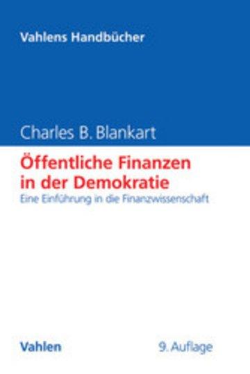 eBook Öffentliche Finanzen in der Demokratie Cover