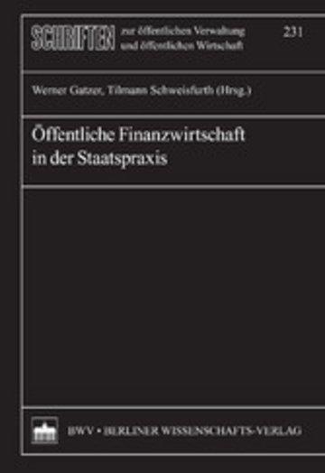 eBook Öffentliche Finanzwirtschaft in der Staatspraxis Cover