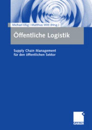 eBook Öffentliche Logistik Cover