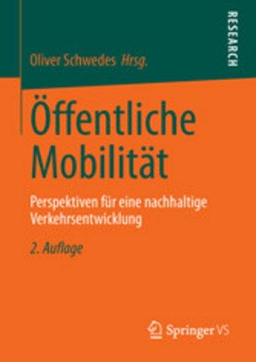 eBook Öffentliche Mobilität Cover