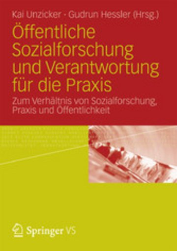 eBook Öffentliche Sozialforschung und Verantwortung für die Praxis Cover