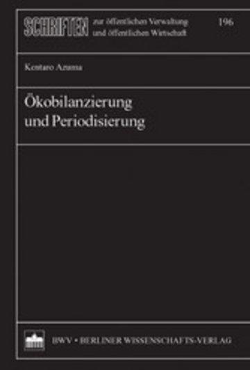 eBook Ökobilanzierung und Periodisierung Cover