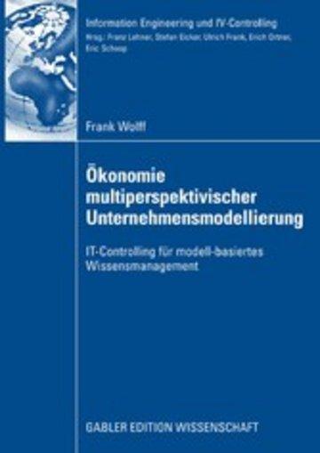 eBook Ökonomie multiperspektivischer Unternehmensmodellierung Cover