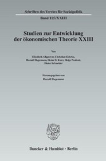 eBook Ökonomie und Technik. Cover