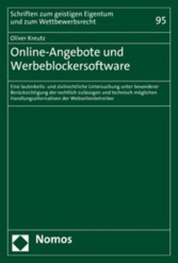 eBook Online-Angebote und Werbeblockersoftware Cover