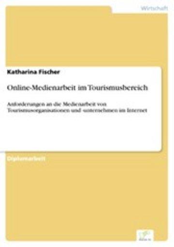 eBook Online-Medienarbeit im Tourismusbereich Cover