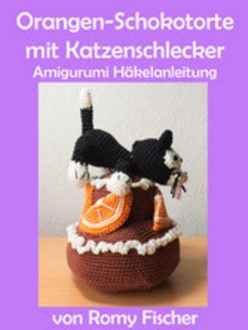 eBook Orangen-Schokotorte mit Katzenschlecker Cover