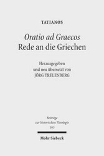 eBook Oratio ad Graecos / Rede an die Griechen Cover