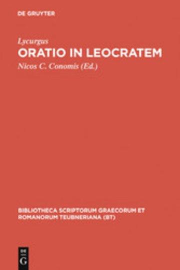 eBook Oratio in Leocratem Cover