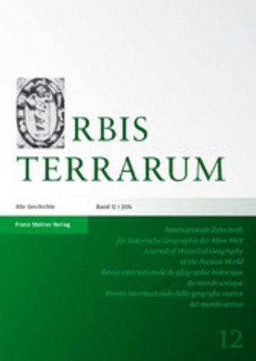 eBook Orbis Terrarum 12 (2014) Cover