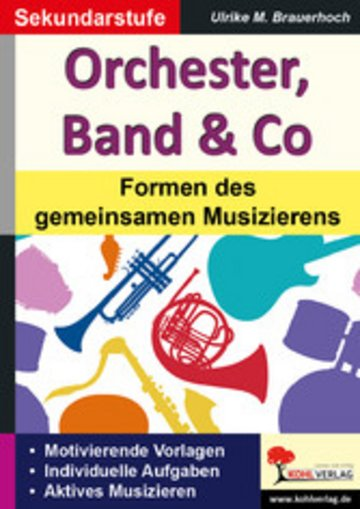 eBook Orchester, Band & Co Cover