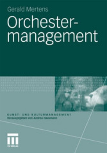 eBook Orchestermanagement Cover
