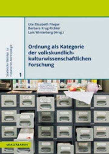 eBook Ordnung als Kategorie der volkskundlich-kulturwissenschaftlichen Forschung Cover