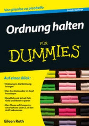eBook Ordnung halten für Dummies Cover