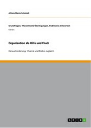 eBook Organisation als Hilfe und Fluch Cover