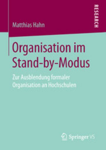 eBook Organisation im Stand-by-Modus Cover