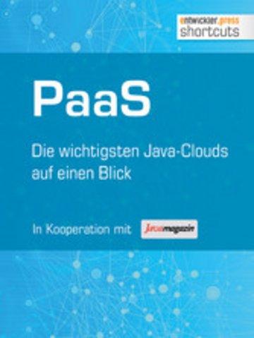 eBook PaaS - Die wichtigsten Java Clouds auf einen Blick Cover