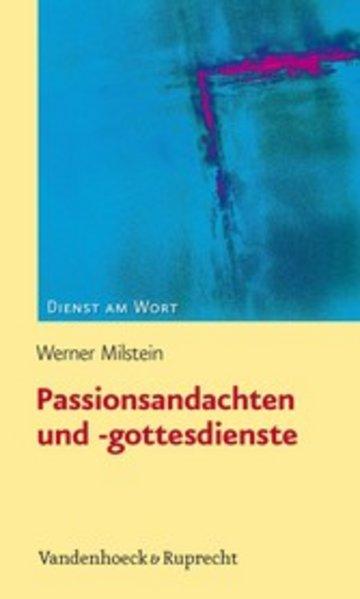 eBook Passionsandachten und -gottesdienste Cover