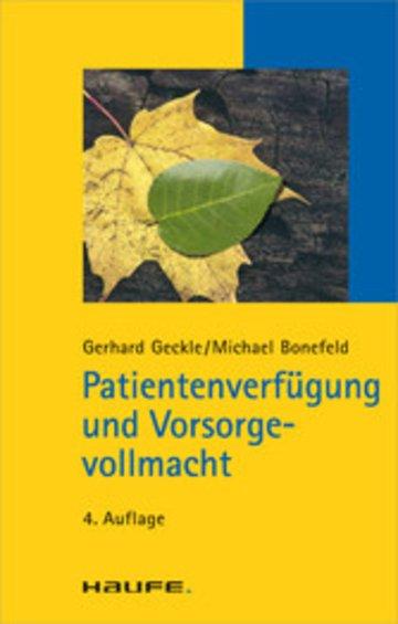 eBook Patientenverfügung und Vorsorgevollmacht Cover