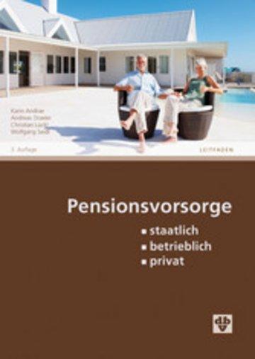 eBook Pensionsvorsorge (Ausgabe Österreich) Cover