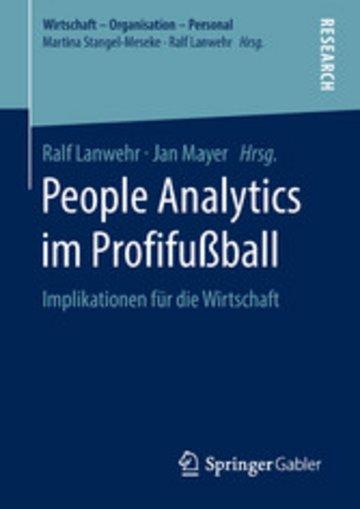 eBook People Analytics im Profifußball Cover