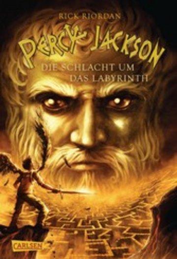 eBook Percy Jackson - Die Schlacht um das Labyrinth (Percy Jackson 4) Cover