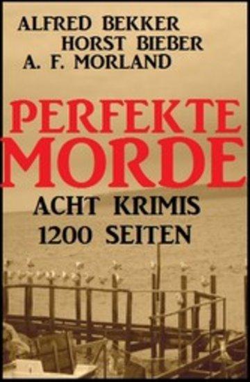 eBook Perfekte Morde: Acht Krimis Cover