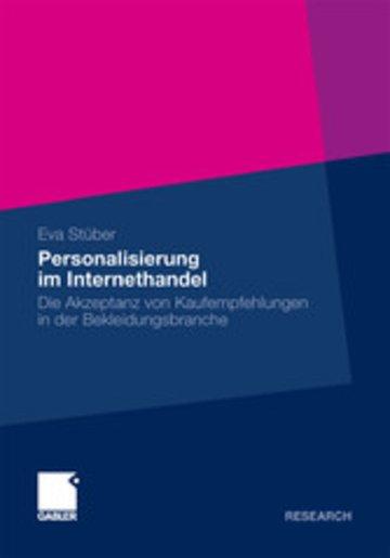 eBook Personalisierung im Internethandel Cover