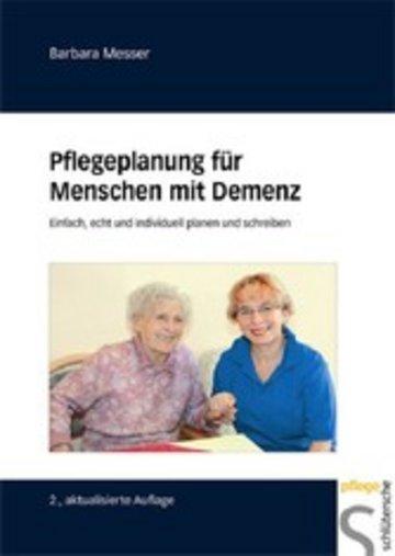 eBook Pflegeplanung für Menschen mit Demenz Cover