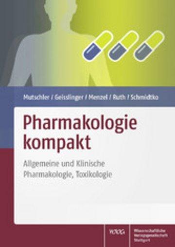 eBook Pharmakologie kompakt Cover