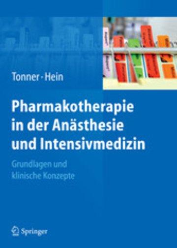 eBook Pharmakotherapie in der Anästhesie und Intensivmedizin Cover