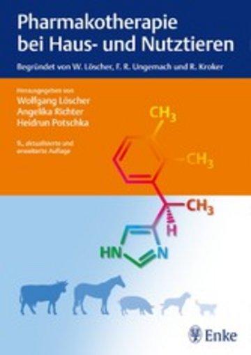 eBook Pharmakotherapie bei Haus- und Nutztieren Cover