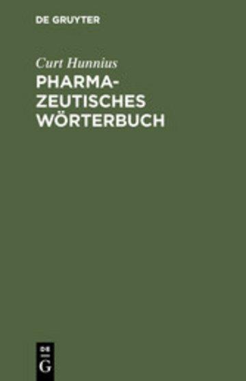 eBook Pharmazeutisches Wörterbuch Cover