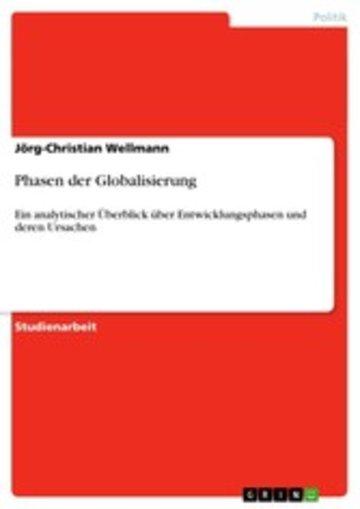 eBook Phasen der Globalisierung Cover