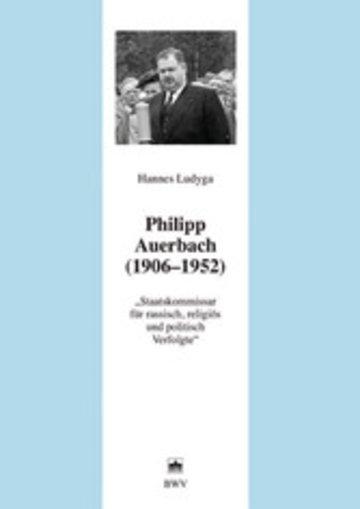 eBook Philipp Auerbach (1906 - 1952) Cover