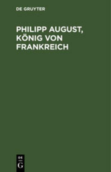 eBook Philipp August, König von Frankreich Cover