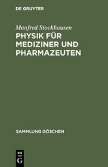 eBook Physik für Mediziner und Pharmazeuten Cover