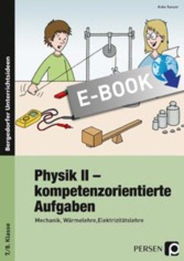 eBook Physik II - kompetenzorientierte Aufgaben Cover