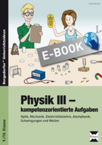 eBook Physik III - kompetenzorientierte Aufgaben Cover